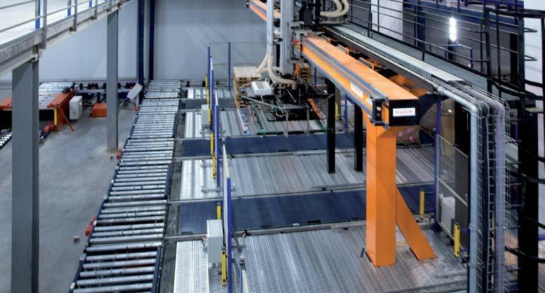Afbeelding van een portaalrobot met twee assen.
