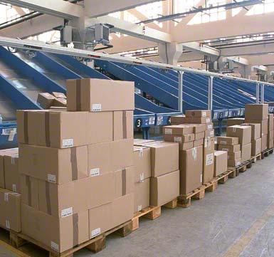 Sorteren en consolideren van bestellingen per klant of per bestemming