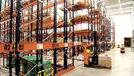 Havi Logistics vindt het Moviracksysteem de perfecte oplossing om de opslagcapaciteit te verhogen