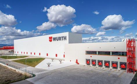 Würth breidt zijn opslagcapaciteit uit met een