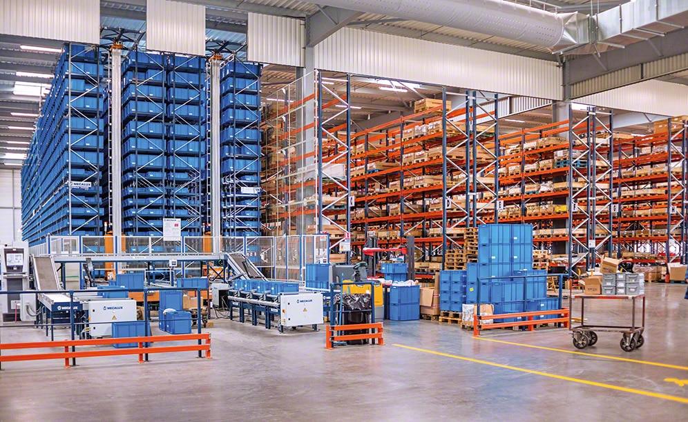 Bij Grégoire Besson worden bestellingen sneller klaargezet en goederen efficiënter beheerst