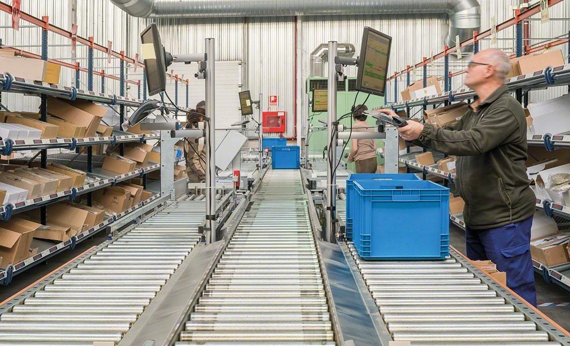 « Logistiek 4.0 » bevordert hyperconnectiviteit en het gebruik van elektronische apparaten, die het beheer van de workflows in het magazijn verbeteren