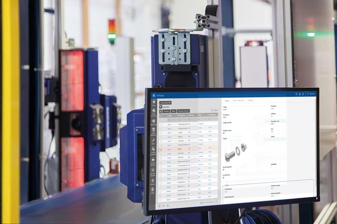 Het warehouse management systeem helpt de doorlooptijd te optimaliseren