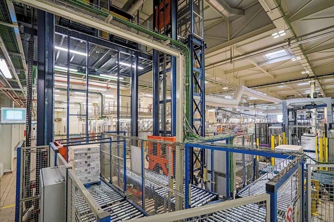 De automatisering van de logistieke processen vermindert de leveringstermijnen