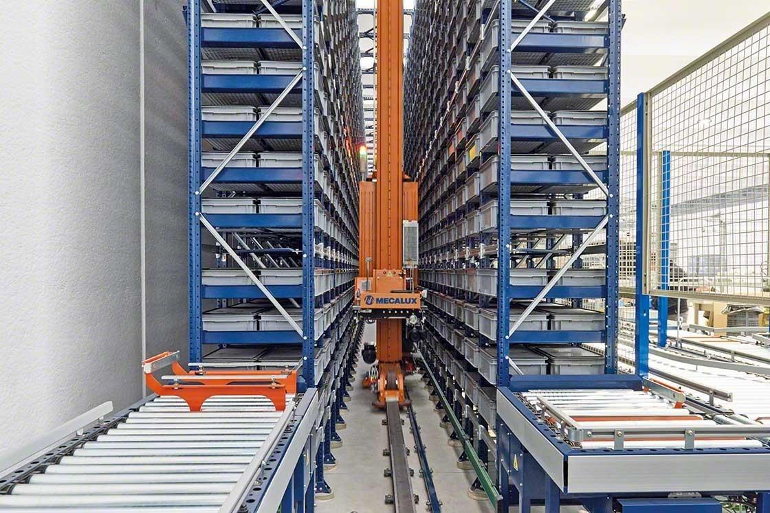 De investering in automatische opslagoplossingen maakt deel uit van de logistieke kosten van de installaties