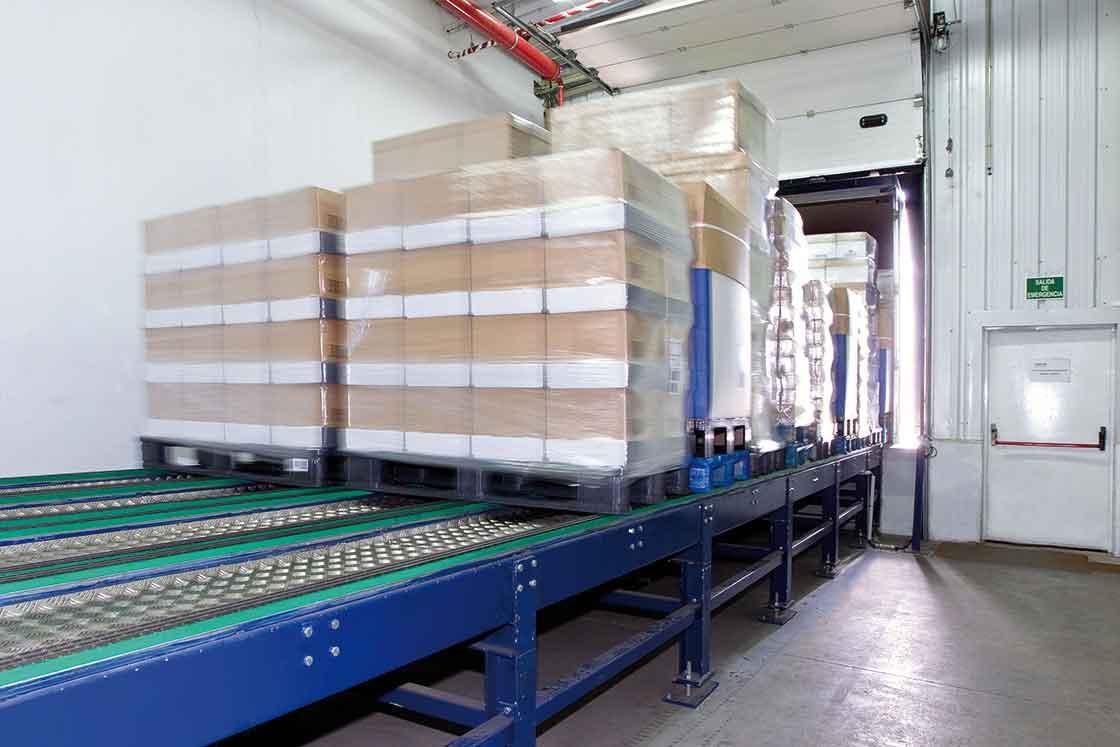 Automatische laadplatforms versnellen het verzendingsproces van goederen