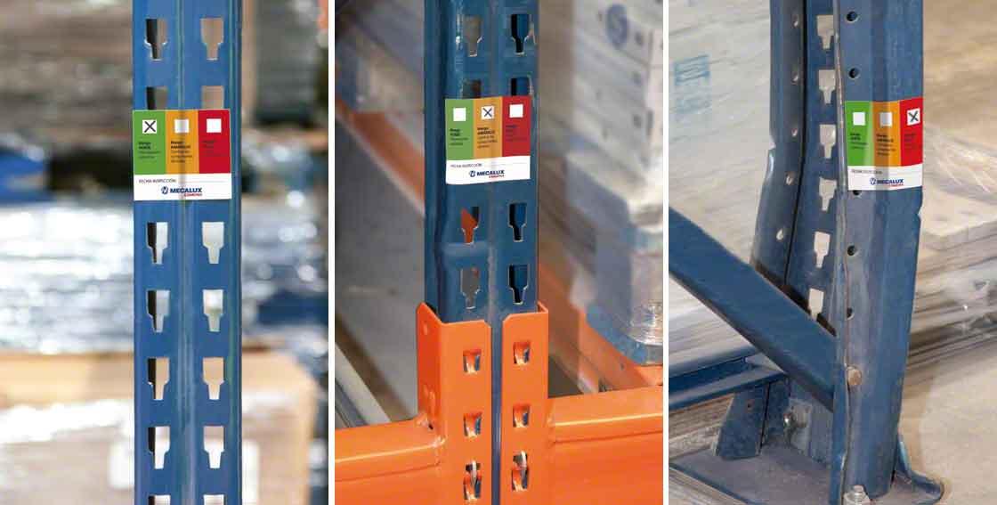 Preventief onderhoud en de technische keuring van de magazijnstellingen verhogen de veilige opslag van de goederen