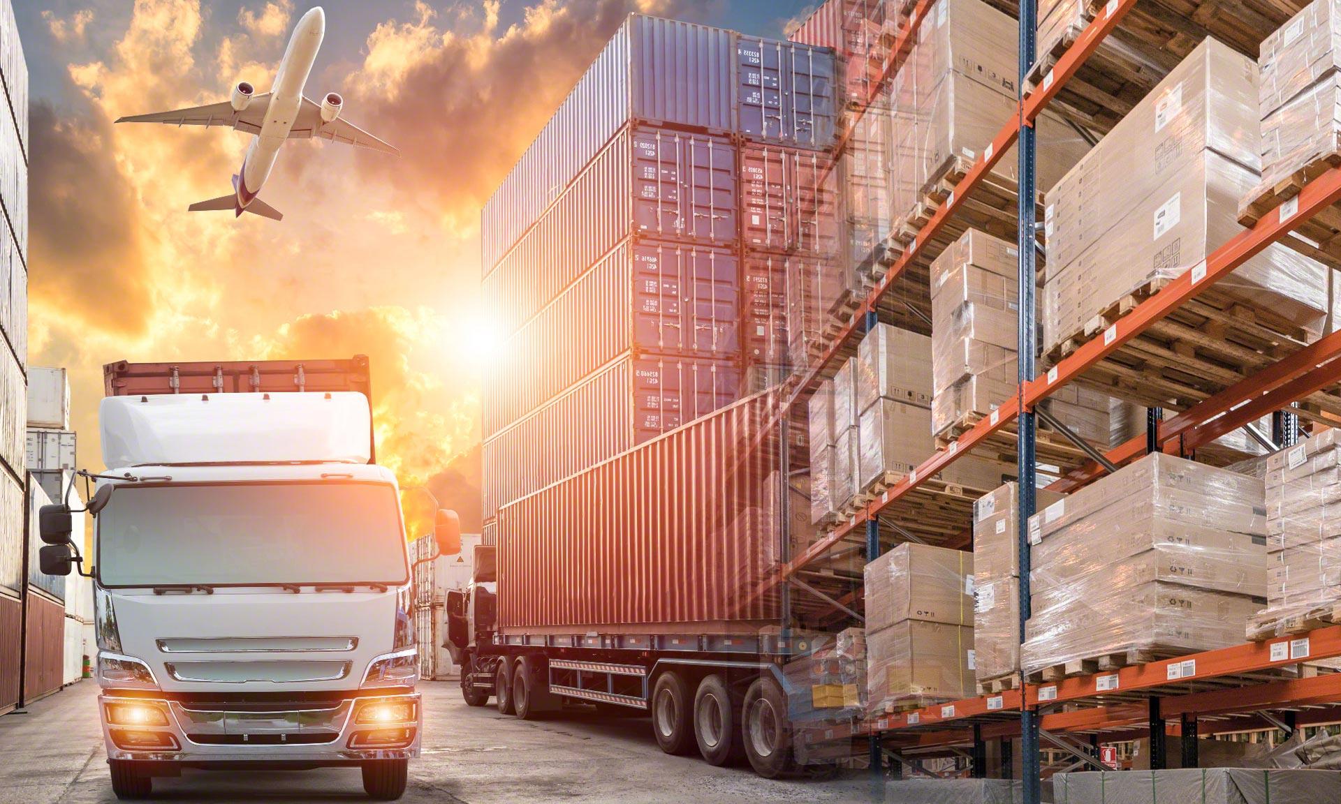 Het nieuwe magazijn van logistiek dienstverlener Tailormade Logistics in Gent