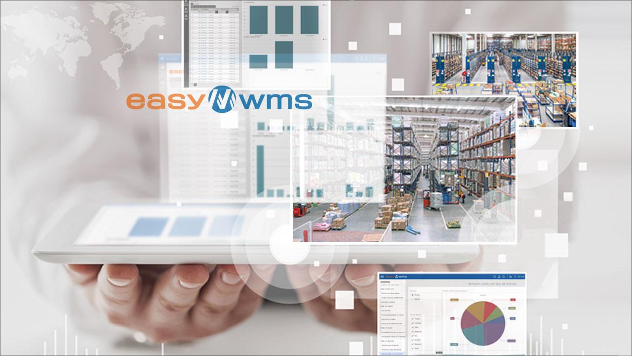 Easy WMS. De logistieke software ontwikkeld door experts in opslagoplossingen