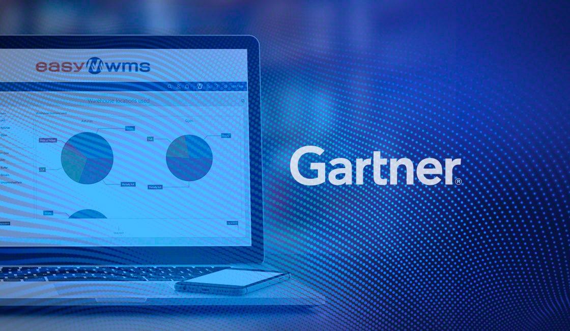 Easy WMS in het Gartner Magic Quadrant for Warehouse Management Systems-rapport