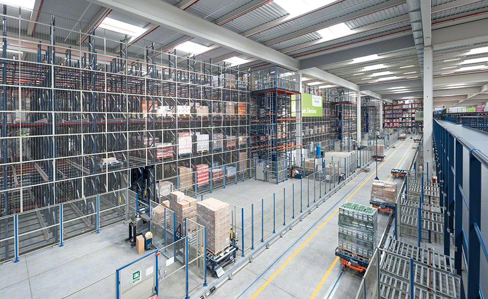 Luis Simões een modern logistiek centrum